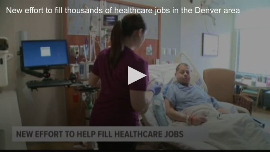 New effort to fill thousands of healthcare jobs in the Denver area