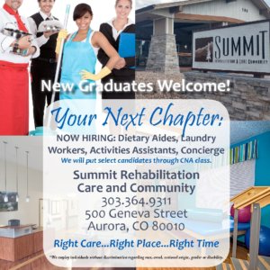 Vivage Senior Living Now Hiring in Aurora
